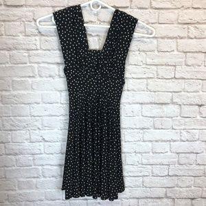 WHBM Convertible Polka Dot Dress